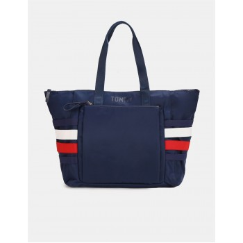 Tommy Hilfiger Women Blue  Tote bag With 4 Compartment