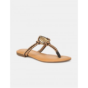 Tommy Hilfiger Women Casual Wear Brown Sandals