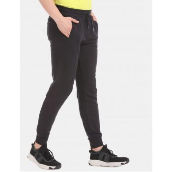 Tommy Hilfiger Men Casual Wear Black Track Pant