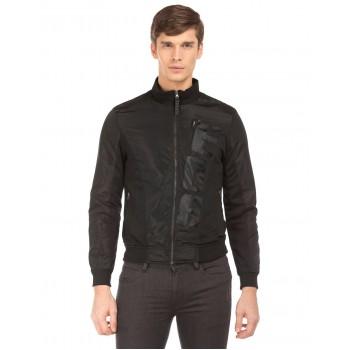 Ed Hardy Men Black Casual Jacket