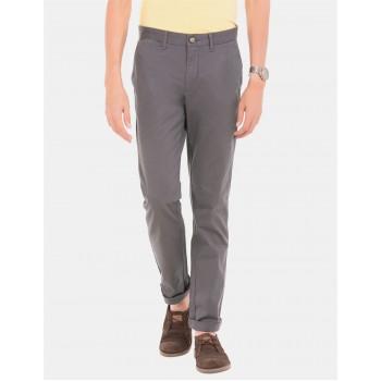 U.S. Polo Assn. Men Casual Wear Grey Chinos