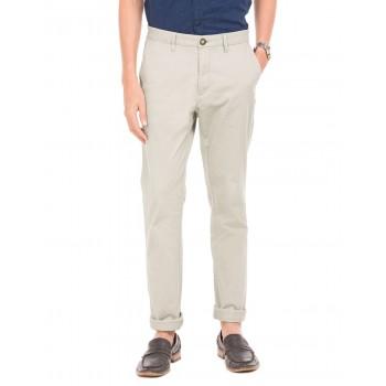 U.S. Polo Assn. Men Grey Casual Trousers