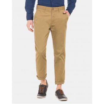 U.S. Polo Assn. Men Casual Wear Brown Chinos