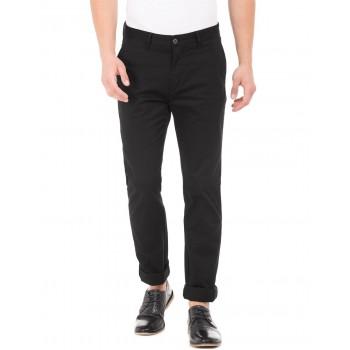 U.S. Polo Assn. Men Casual Wear Black Chinos