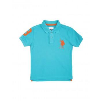 U.S. Polo Assn. Boys Solid Cotton Pique Polo Shirt