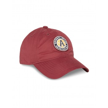 Aeropostale Men Casual Wear Appliqued Maroon Baseball Cap