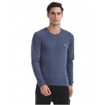 Ed Hardy Men Casual Wear Blue Sweatshirt