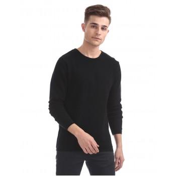 Ed Hardy Men Casual Wear Black Sweater