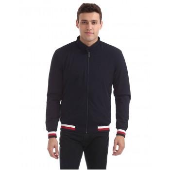 Arrow Sports Men Casual Wear Blue Jacket