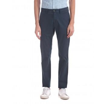 U.S. Polo Assn. Men Blue Casual Trousers