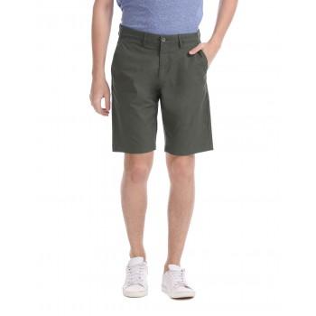 U.S. Polo Assn. Men Casual Wear Dark Green Basic Shorts