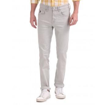 U.S. Polo Assn. Men Casual Wear Grey Jeans