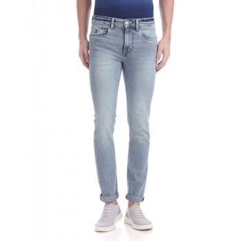 U.S. Polo Assn. Men Casual Wear Sky Blue Jeans