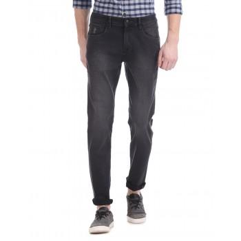 U.S. Polo Assn. Men Casual Wear Dark Grey Jeans