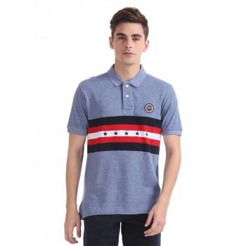 U.S. Polo Assn. Men Casual Wear Multicolor T-Shirt