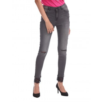 U.S. Polo Assn. Skinny Fit High Waist Jeans