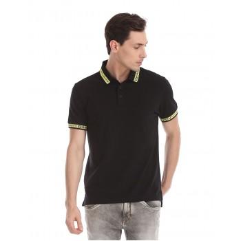 Ed Hardy Men Casual Wear Black T-Shirt