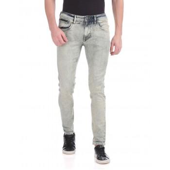 Ed Hardy Men Casual Wear Grey Jeans