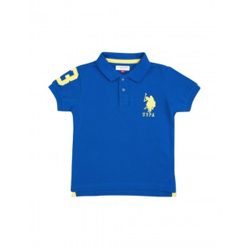 U.S. Polo Assn. Boys Solid Cotton Pique Polo Shirt