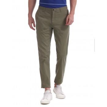 Gant Men Casual Wear Green Trousers