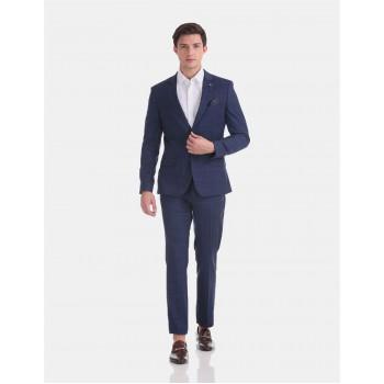 Arrow Men Formal Wear Blue Suit Set