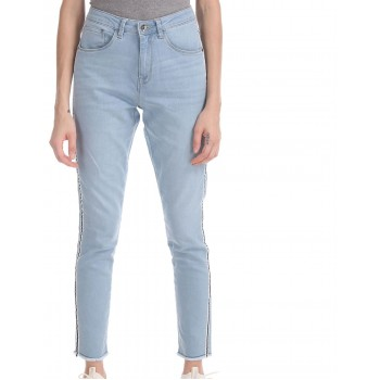 U.S. Polo Assn. Blue Super Skinny Fit High Waist Jeans