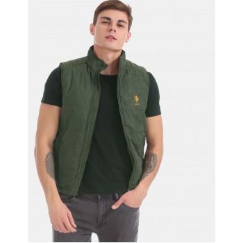 U.S. Polo Assn. Men Casual Wear Green Casual jacket