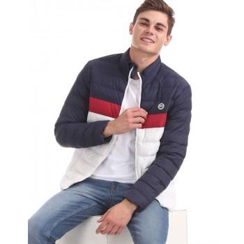 U.S. Polo Assn. Men Casual Wear Multicolor Puffer Jacket