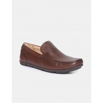 Arrow Men Formal Wear Brown Slip On Loafers