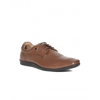 Arrow Men Formal Wear Brown Lace Up Oxford Shoes