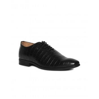 Arrow Men Formal Wear Black Lace Up Oxford Shoes