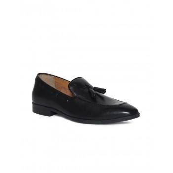Arrow Men Formal Wear Black Slip On Loafers