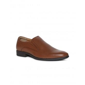 Arrow Men Formal Wear Brown Slip On Loafers
