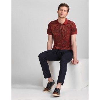 True Blue Men Casual Wear Multi-colour T-Shirt