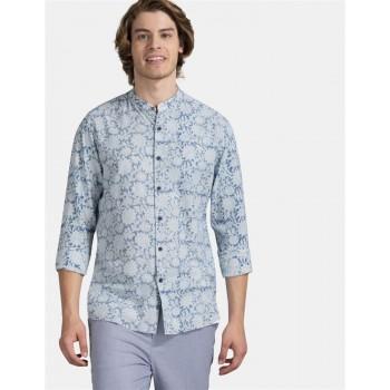 True Blue Men Casual Wear Sky Blue Shirt