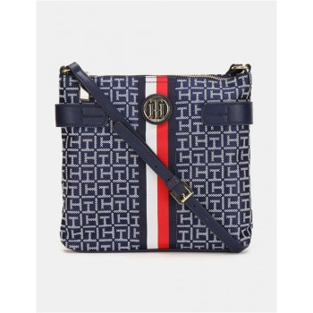 Tommy Hilfiger Women Blue  Sling Bag With 2 Compartment