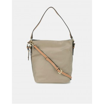 Tommy Hilfiger Women Beige Sling Bag With 2 Compartment