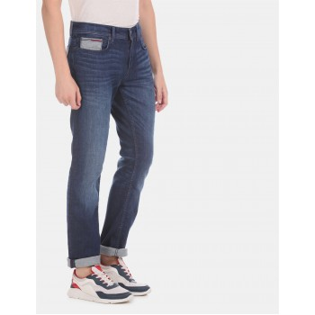 Tommy Hilfiger casual Wear Men Blue Jeans
