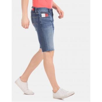 Tommy Hilfiger Men Casual Wear Blue Shorts