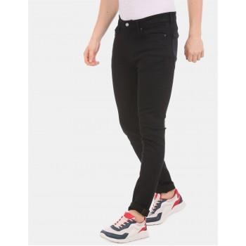 Tommy Hilfiger casual Wear Men Black  Jeans