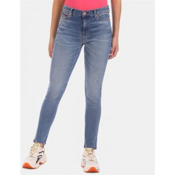 Tommy Hilfiger casual Wear Women Blue Jeans