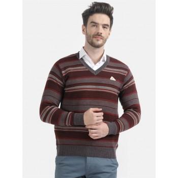 Monte Carlo Men's Casual Wear Multicolor Sweater