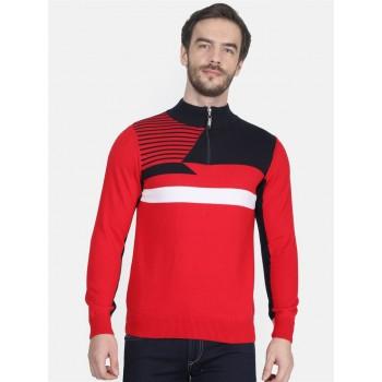 Monte Carlo Men's Casual Wear Red Pullover