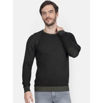 Monte Carlo Men's Casual Wear Olive Sweater