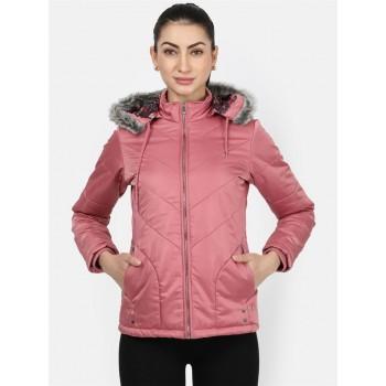 Monte Carlo Women Casual Wear  Peach Jacket