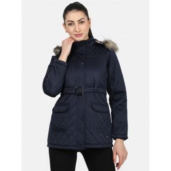 Monte Carlo Women Casual Wear  Navy Jacket