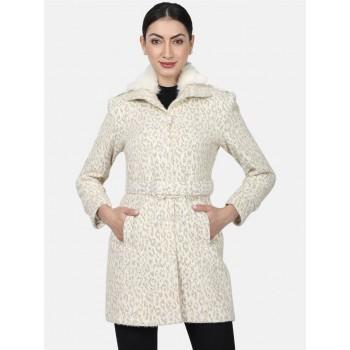 Monte Carlo Women Casual Wear  Brown Coat