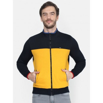Monte Carlo Men's Casual Wear Yellow Sweatshirt
