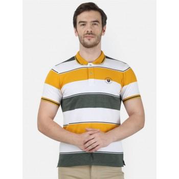 Monte Carlo Men Casual Wear Multicolor T-Shirt