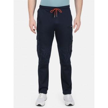 Monte Carlo Men Casual Wear Navy Track Pant